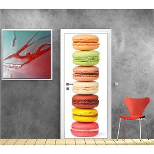 stickers cuisine macaron achat vente stickers cuisine macaron pas cher les soldes sur. Black Bedroom Furniture Sets. Home Design Ideas