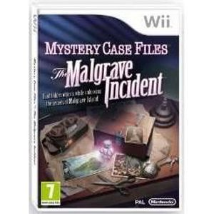 JEUX WII Mystery Case Files: The Malgrave Incident (Nintend