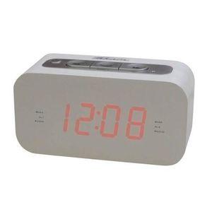 Radio réveil TAKARA KL90 Radio Réveil blanc Tuner FM
