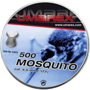 2 Boites de 500 Plombs UMAREX MOSQUITO Cal 4.5