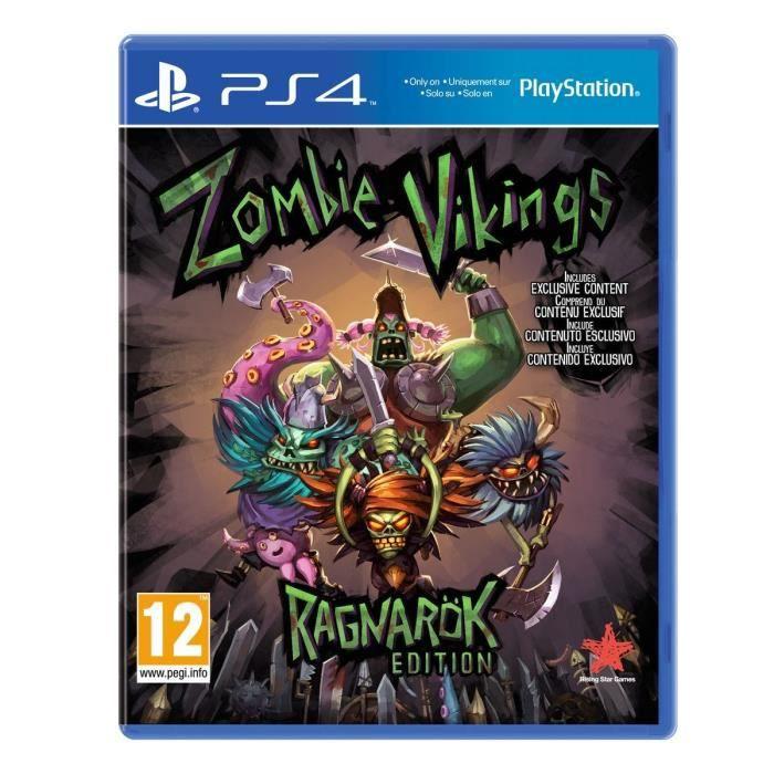 zombie vikings jeu ps4 achat vente jeu ps4 zombie vikings ps4 cdiscount. Black Bedroom Furniture Sets. Home Design Ideas