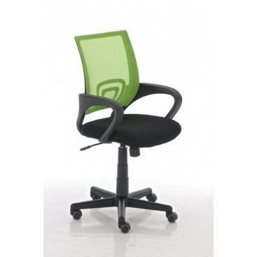 Fauteuil de bureau aleramo vert achat vente chaise for Petit fauteuil de bureau