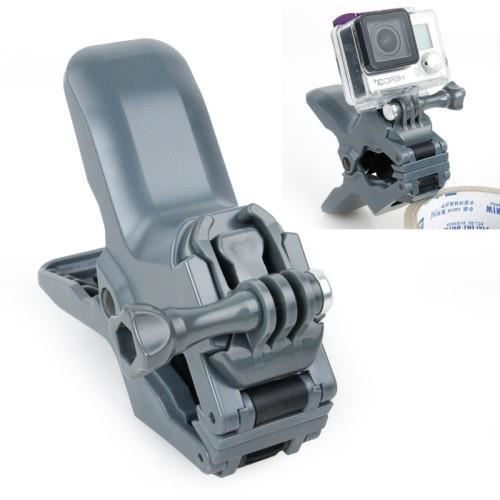 Support pince pour gopro hero gris achat vente perche support cdiscount - Support photo pince ...