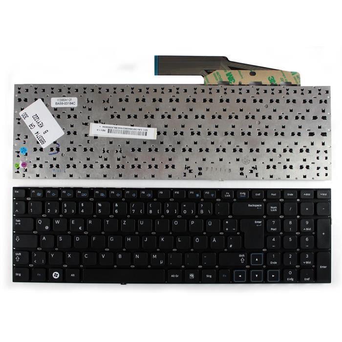 samsung v129960ak1 noir layout allemande clavier pour. Black Bedroom Furniture Sets. Home Design Ideas