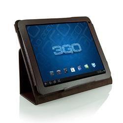 housse etui pour tablette 9 7 pouces cuir marron prix. Black Bedroom Furniture Sets. Home Design Ideas