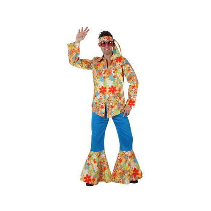 costume homme hippie fleurs achat vente d guisement panoplie costume homme hippie. Black Bedroom Furniture Sets. Home Design Ideas