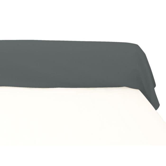 taie de traversin en coton pour lit 160 cm coul achat vente taie d 39 oreiller cdiscount. Black Bedroom Furniture Sets. Home Design Ideas