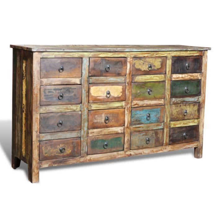 commode cabinet de rangement style antique vintage achat vente commode de chambre commode. Black Bedroom Furniture Sets. Home Design Ideas