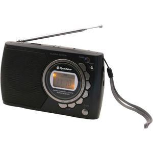 ROADSTAR TRA 2362 Radio De Voyage Multibandes - Pll - 10 Gammes : 10 Sw/Mw - Fonctions Montre/Réveil - Sortie Casque