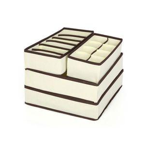 rangement sous vetement achat vente rangement sous vetement pas cher cdiscount. Black Bedroom Furniture Sets. Home Design Ideas