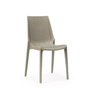 CHAISE Chaise tissee grise taupe design - LUCREZIA grise