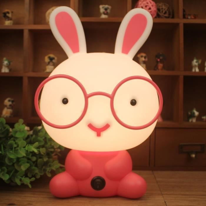 Veilleuse lapin achat vente veilleuse lapin pas cher for Lampe de chevet lapin