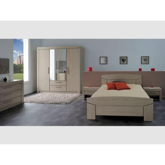 Chambre coucher 3 pi ces field achat vente chambre compl te chambre c - Chambre a coucher cdiscount ...
