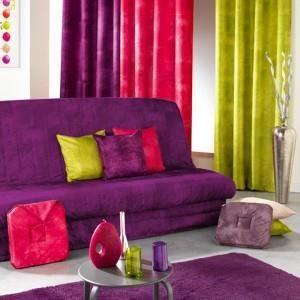 Housse de clic clac opak violet paris prix achat vente housse de canape - Housse de clic clac violet ...
