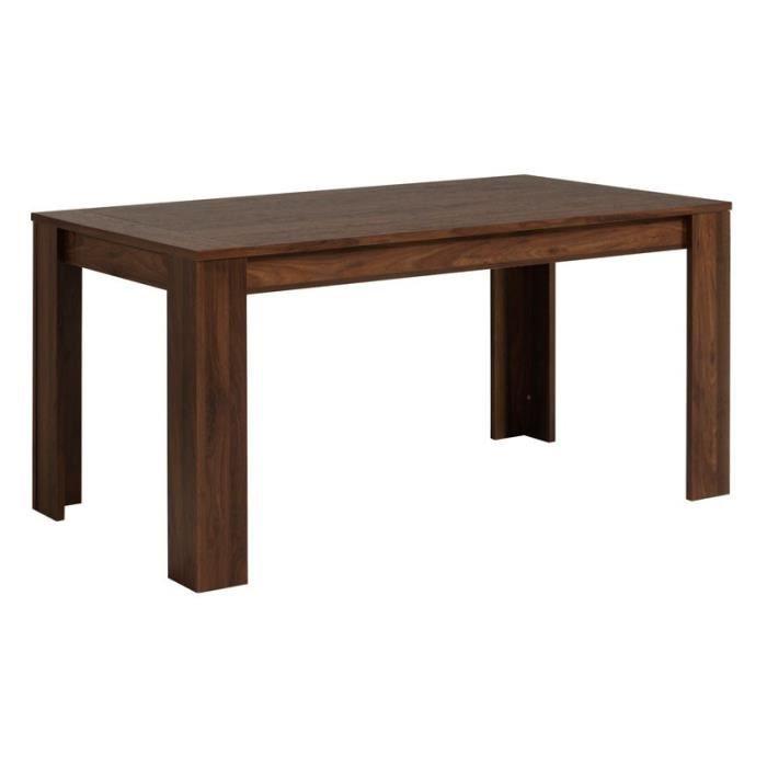 table de repas allonges noyer gringo achat vente table a manger seule table de repas. Black Bedroom Furniture Sets. Home Design Ideas