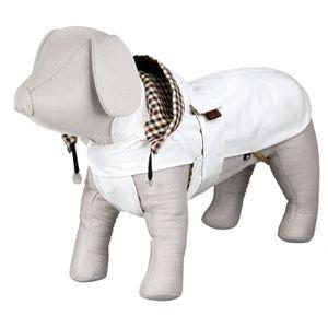 TRIXIE Manteau Certaldo S: 33 cm blanc pour chien