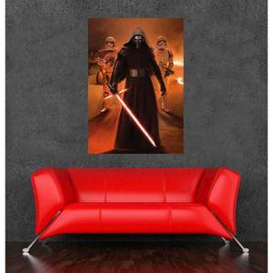 Affiche film star wars achat vente affiche film star for Autocollant mural star wars