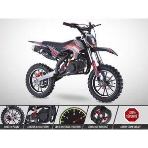 MOTO Moto Enfant RX49 - 50cc - ROCKSTAR – Rouge