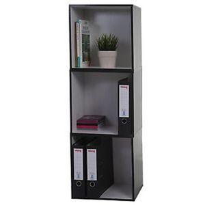 etagere cubes noire achat vente etagere cubes noire pas cher cdiscount. Black Bedroom Furniture Sets. Home Design Ideas