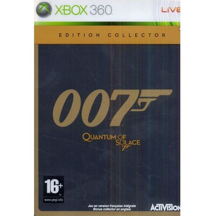 the XBOX 360 game Quantum of Solace. Find all our Quantum of Solace ...
