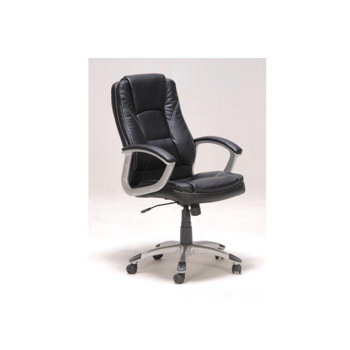kylie fauteuil de bureau noir achat vente chaise de bureau noir les soldes sur. Black Bedroom Furniture Sets. Home Design Ideas