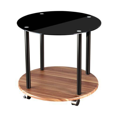 Premier housewares table d 39 appoint ronde 2 nive achat - Table d appoint ronde ...