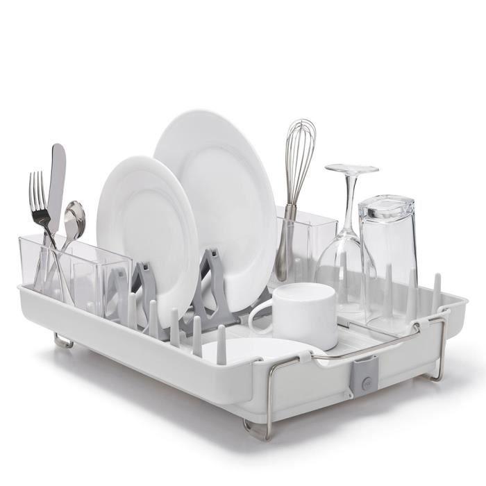 Oxo gouttoir vaisselle pliable oxo achat vente - Egouttoir a vaisselle a suspendre ...