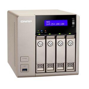 SERVEUR STOCKAGE - NAS  QNAP Serveur NAS 4 baies TVS-463-4G