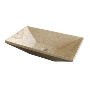 Vasque a poser beige achat vente vasque a poser beige for Vasque a poser en pierre naturelle
