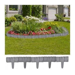 Grillage bordure achat vente grillage bordure pas cher cdiscount - Bordure jardin imitation pierre ...