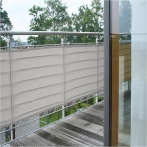 brise vue terrasse gris achat vente brise vue terrasse gris pas cher cdiscount. Black Bedroom Furniture Sets. Home Design Ideas