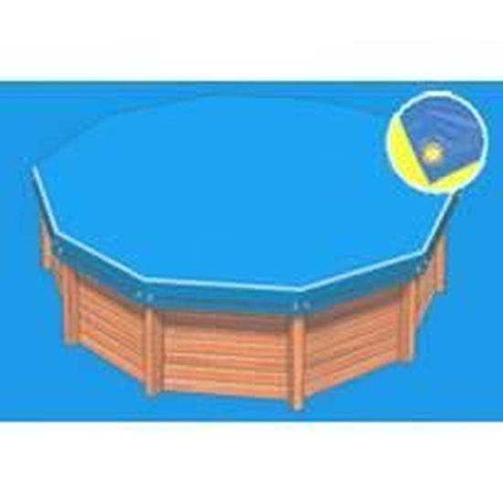 Piscine bois jawa for Bache piscine sunbay