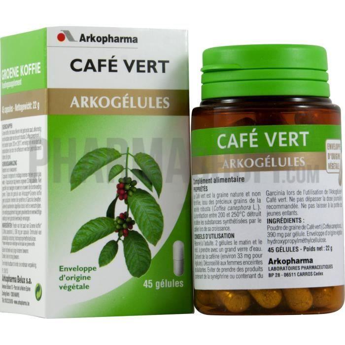 Acheter caf vert extra minceur r gime pauvre en calories - Cafe vert extra minceur pharmacie ...