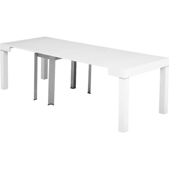 Pin by cm menzzo on table design pinterest table console for Table console extensible 12 personnes