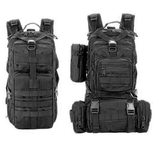 sac a dos militaire noir 30l prix pas cher les soldes sur cdiscount cdiscount