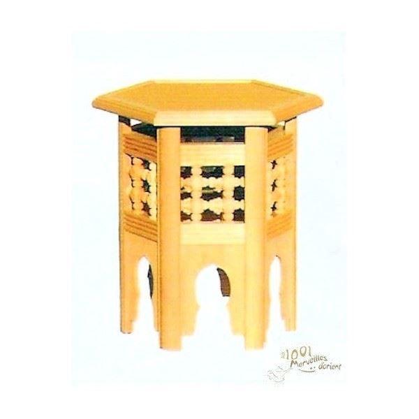 Petite table basse en bois maison design La petite table basse en bois brut