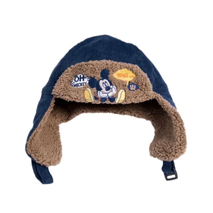 chapka b b gar on mickey bonnet 1 2 ans bleu achat vente bonnet cagoule 2009950566350. Black Bedroom Furniture Sets. Home Design Ideas