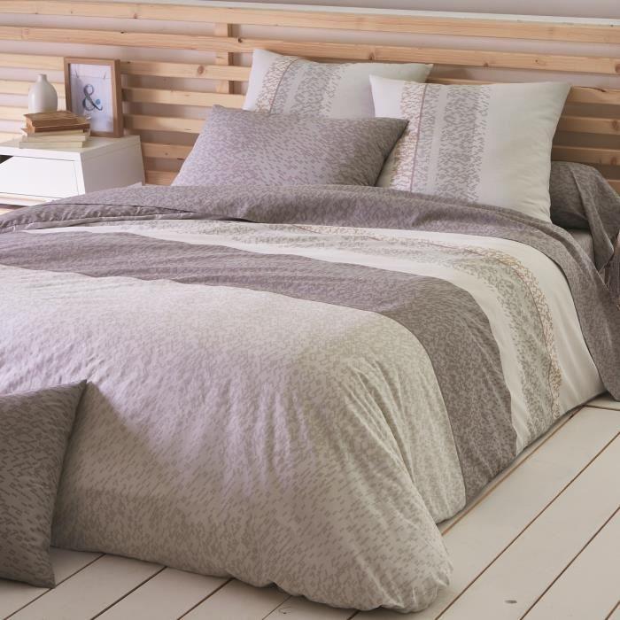 housse de couette 260 x 240 cm cork achat vente housse. Black Bedroom Furniture Sets. Home Design Ideas