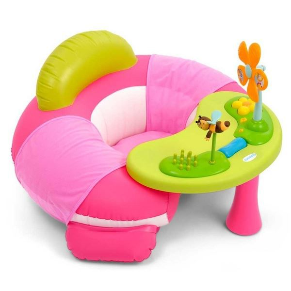 smoby cotoons cosy seat rose achat vente table. Black Bedroom Furniture Sets. Home Design Ideas