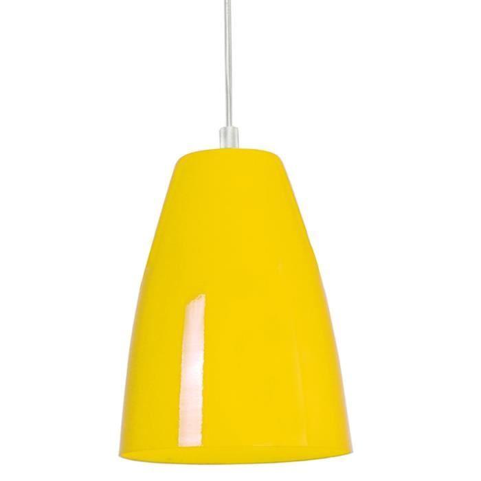 larsen suspension jaune achat vente larsen suspension jaune cdiscount. Black Bedroom Furniture Sets. Home Design Ideas