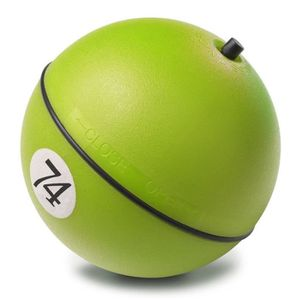 D&D Adventure Magic Balle - ?8cm - Lime - Pour chien et chat