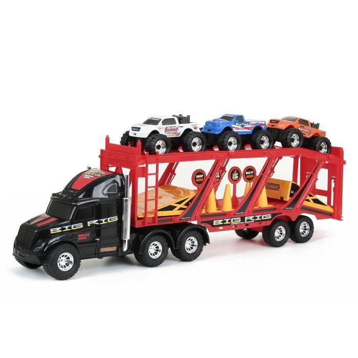 transporteur de voitures achat vente voiture camion cdiscount. Black Bedroom Furniture Sets. Home Design Ideas