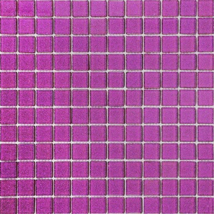 carrelage mosa que en verre violet avec des paillettes les feuilles enti res de carreaux. Black Bedroom Furniture Sets. Home Design Ideas