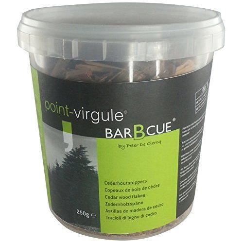 point virgule pvb bbq 0189 copeau de bois de c achat vente autres sauces froides point. Black Bedroom Furniture Sets. Home Design Ideas
