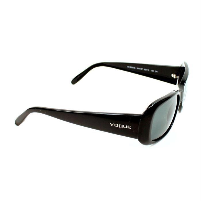 lunettes de soleil vogue vo2606s noir achat vente lunettes de soleil femme cdiscount. Black Bedroom Furniture Sets. Home Design Ideas