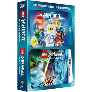BLU-RAY DESSIN ANIMÉ DVD LEGO Ninjago, Les maîtres du Spinjitzu - Saiso