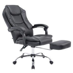 Chaise bureau repose pied achat vente chaise bureau - Comparatif siege massant ...