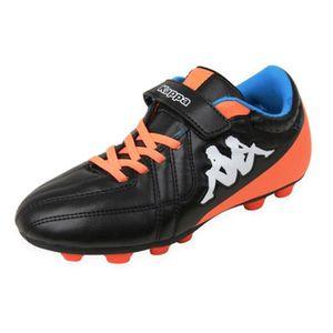 CHAUSSURES DE FOOTBALL Chausure KAPPA Player V FG Enfant Noir et orange D