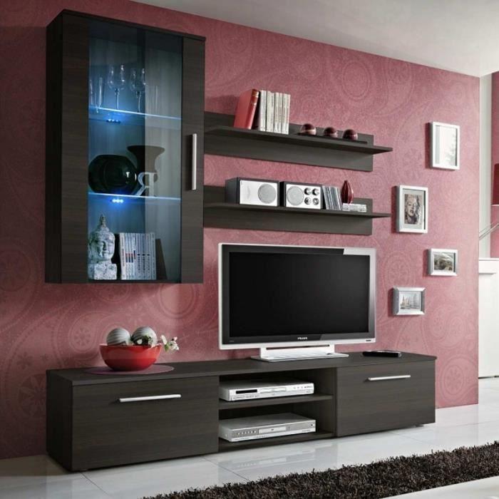 Paris prix meuble tv mural design galino v coffee for Prix meuble tv