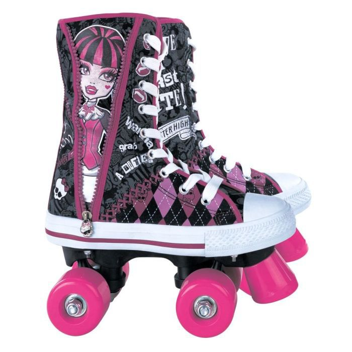 monster high patins a roulettes pointure 36 achat vente patin quad cdiscount. Black Bedroom Furniture Sets. Home Design Ideas